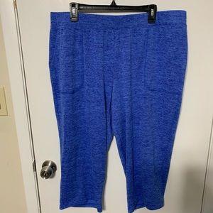 Talbots Capris 2X Blue
